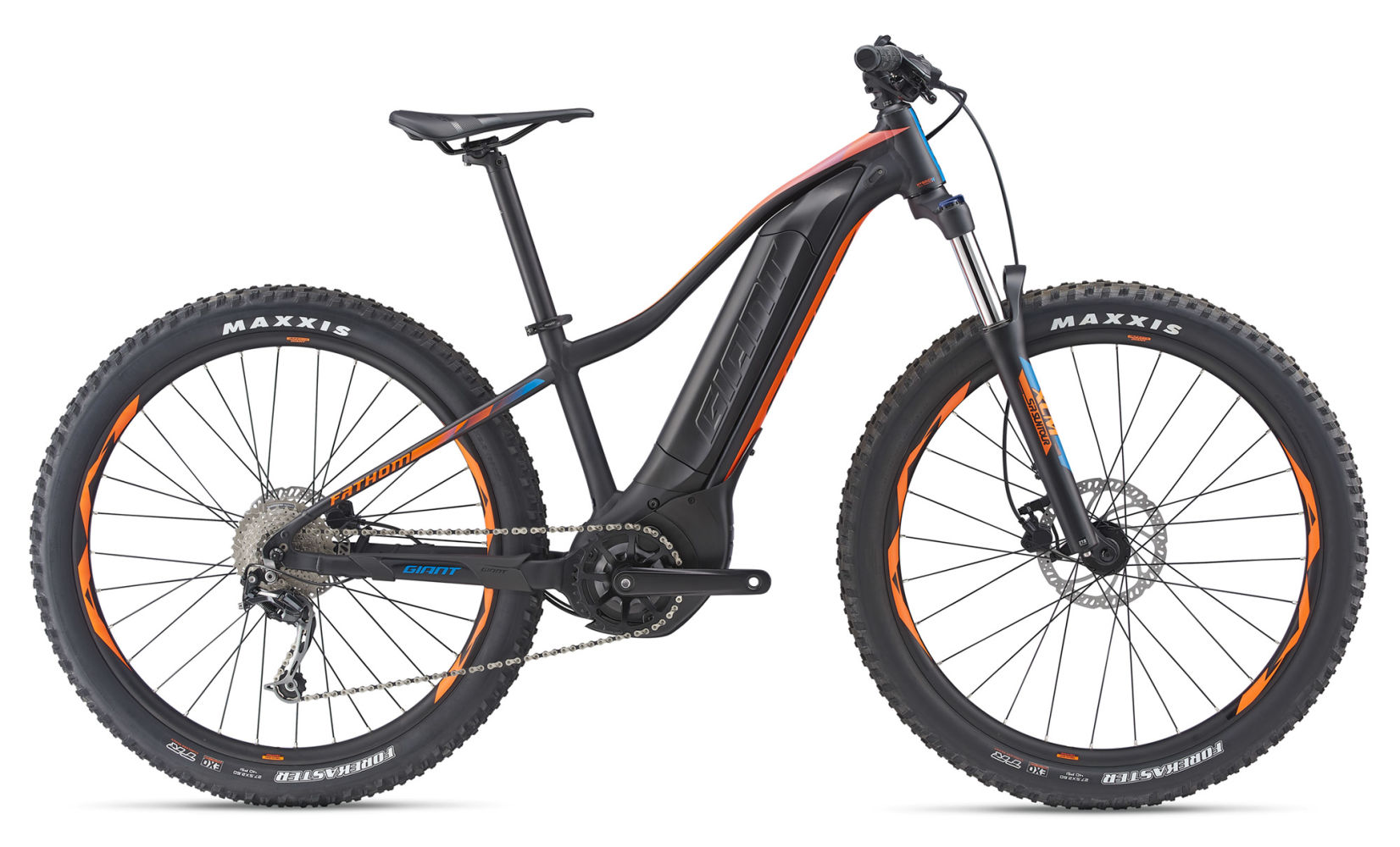 "27.5""GIANT FATHOM E-BIKE E+3 POWER 2019"